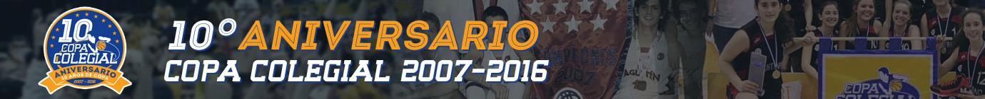 10º aniversario Copa Colegial